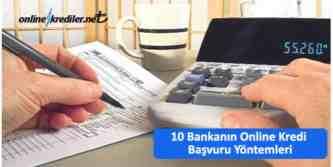 online kredi başvurusu nasıl yapılır