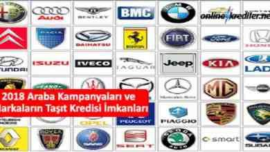 Photo of 2018 Araba Kampanyaları ve Markaların Taşıt Kredisi İmkanları