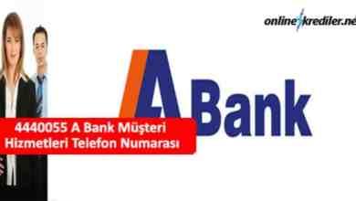 Photo of 4440055 A Bank Müşteri Hizmetleri Telefon Numarası