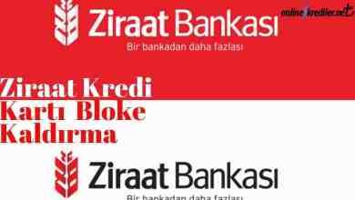 Photo of Ziraat Kredi Kartı Bloke Kaldırma İşlemi