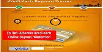albaraka kredi karti basvuru
