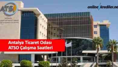 Photo of Antalya Ticaret Odası ATSO Çalışma Saatleri Kaçtan Kaça