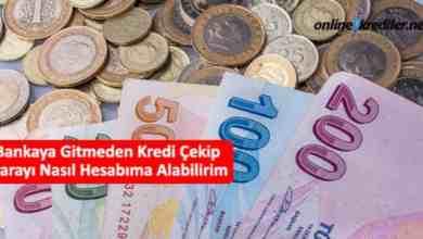 Photo of Bankaya Gitmeden Kredi Çekip Parayı Nasıl Hesabıma Alabilirim