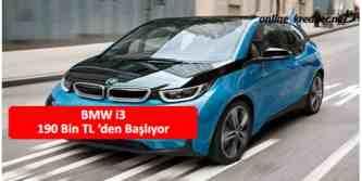 bmw hibrit i3 190 bin tl
