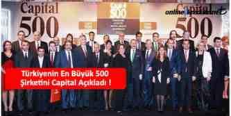 capital 500 en büyük şirketler
