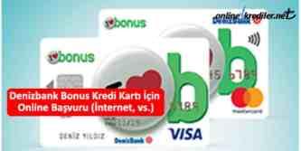 deniz bonus online başvuru