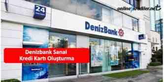 denizbank sanal kredi kartı