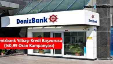 Photo of Denizbank Yılbaşı Kredisi Başvurusu (%0,99 Oran Kampanyası)