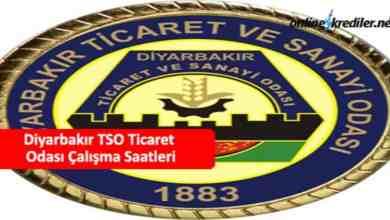 Photo of Diyarbakır TSO Ticaret Odası Çalışma Saatleri