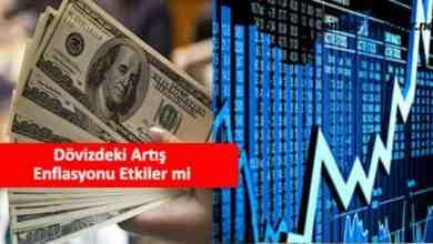 Photo of Dövizdeki Artış Enflasyonu Etkiler mi