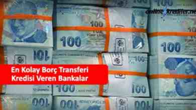 Photo of En Kolay Borç Transferi Kredisi Veren Bankalar