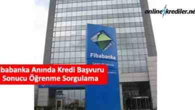 Photo of Fibabank Anında Kredi Başvuru Sonucu Öğrenme Sorgulama
