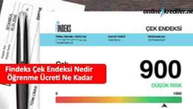 Photo of Findeks Çek Endeksi Nedir Öğrenme Ücreti Ne Kadar