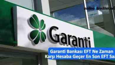 Photo of Garanti Bankası EFT Ne Zaman Karşı Hesaba Geçer En Son EFT Saati