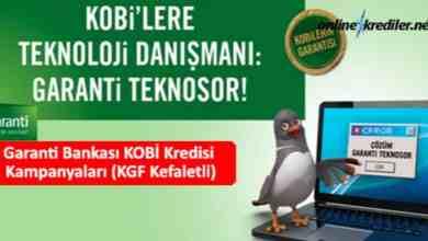 Photo of Garanti Bankası KOBİ Kredisi Kampanyaları (KGF Kefaletli)