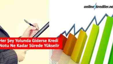Photo of Kredi Notu Ne Kadar Sürede Yükselir (En Hızlı Yöntem)