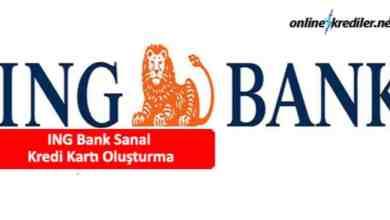 Photo of ING Bank Sanal Kredi Kartı Oluşturma