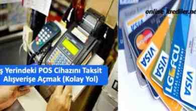 Photo of İş Yerindeki POS Cihazını Taksitli Alışverişe Açmak