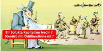 kapitalizm nedir artı ve eksileri