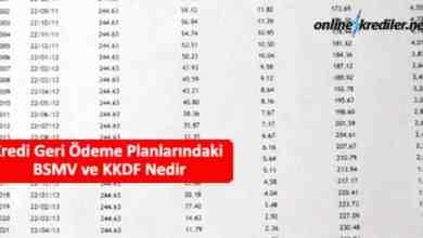 Photo of Kredi Geri Ödeme Planlarındaki BSMV ve KKDF Nedir