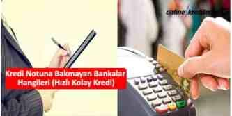 kredi notunu dikkate almayan bankalar