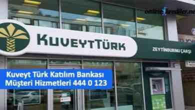 Photo of Kuveyt Türk Müşteri Hizmetleri Numarası 444 0 123
