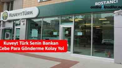 Photo of Kuveyt Türk Senin Bankan Cebe Para Gönderme Kolay Yol