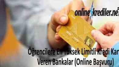 Photo of Öğrencilere En Yüksek Limitli Kredi Kartı Veren Bankalar
