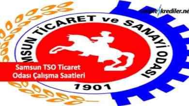 Photo of Samsun TSO Ticaret Odası Çalışma Saatleri