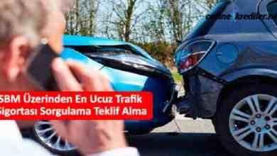 Photo of SBM Online En Ucuz Trafik Sigortası Sorgulama Teklif Alma