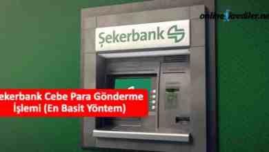 Photo of Şekerbank Cebe Para Gönderme İşlemi (En Basit Yöntem)