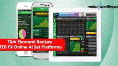 Photo of Türk Ekonomi Bankası TEB FX Online Al Sat Platformu