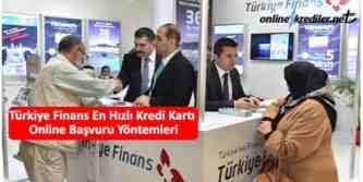 Türkiye finans kredi kartı