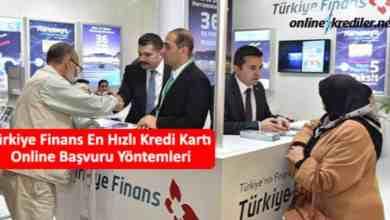 Photo of Türkiye Finans En Hızlı Kredi Kartı Online Başvuru Yöntemleri