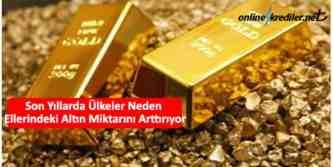 merkez bankaları neden altın alıyor