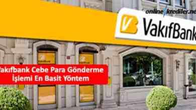 Photo of Vakıfbank Cebe Para Gönderme İşlemi En Basit Yöntem