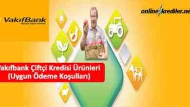 Photo of Vakıfbank Çiftçi Kredisi Ürünleri (Uygun Ödeme Koşulları)