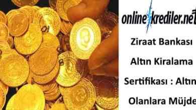 Photo of Ziraat Bankası Altın Kiralama Sertifikası : Altını Olanlara Müjde