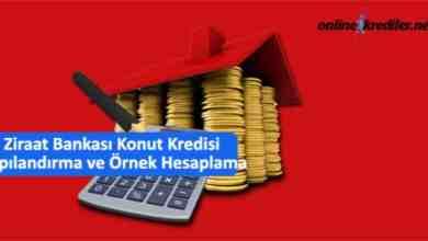 Photo of Ziraat Bankası Konut Kredisi Yapılandırma ve Örnek Hesaplama