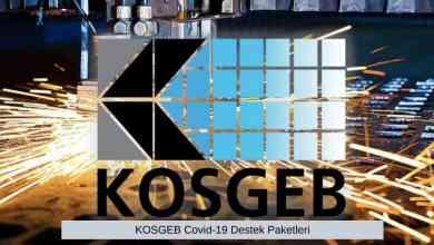 Photo of KOSGEB Covid-19 Destek Paketleri