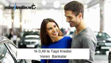 Photo of % 0,49 la Taşıt Kredisi Veren Bankalar