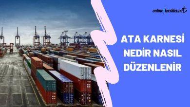 Photo of ATA Karnesi Nedir Nasıl Düzenlenir