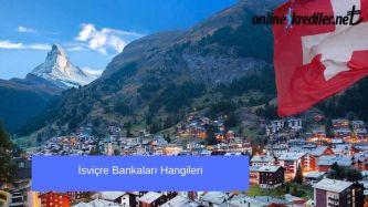 isvicre bankalari hangileri liste