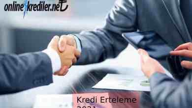 Photo of Kredi Erteleme 2021