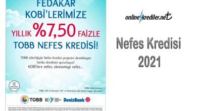 Photo of Nefes Kredisi 2021