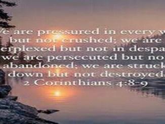 Dalam Segala Hal Kami Ditindas, Namun Tidak Terjepit