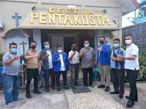 Tawuran di Belawan, GAMKI: Tidak Ada Gereja Terbakar