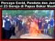 Tak Percaya Covid, Jemaat dan Pendeta dari 32 Gereja di Papua Bakar Masker