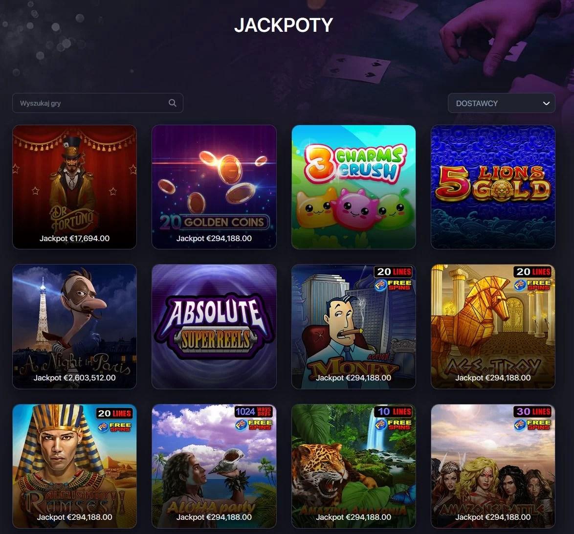 Praise casino - Jackpoty kasyno