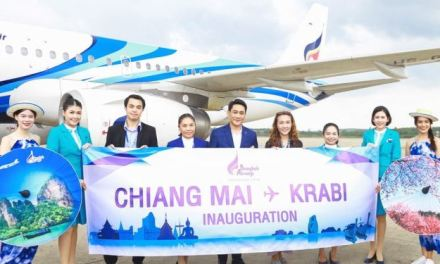 BANGKOK AIRWAYS INAUGURATES DIRECT SERVICE FROM CHIANG MAI TO KRABI